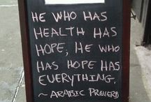 Chalkboard Wisdom via Medhattan! / A daily Rx of common sense. / by Medhattan Immediate Medical Care