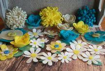 My Felt Flowers