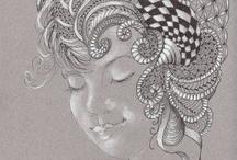 Zentangels/doodles