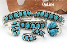 Sleeping Beauty Turquoise / Sleeping Beauty Turquoise Native American Jewelry Four Corners USA OnLine / by Four Corners USA OnLine