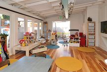 Cafes / Cafés oriented to moms and children. Ideas to decorate and set up a Cafe place