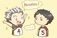 "Haikyuu ships and stuff~ \(""•///•"")/"