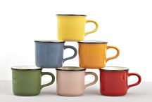 mugs, cups and teapots