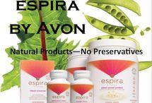 Avon Wellness Products - Natural Ingredients - Espira Line