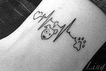 Hunde-Tattoos