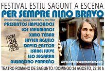 NINO BRAVO PER SEMPRE / Per Sempre Nino Bravo es un proyecto que parte de la documentación recopilada sobre la vida de Nino Bravo y de la entrevista que Jordi Serra i Fabra realizó al cantante cinco días antes de su muerte (16/04/1973).  Estas imágenes se intercalan con actuaciones en vivo interpretadas por el propio Nino Bravo y artistas invitados en el escenario.  Un espectáculo innovador y de gran calidad artística dirigido por Nacho Mañó y Ximo Tebar  + Info, videoclip, prensa: www.ninobravopersempre.com