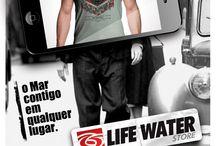 Life Water Store / Anúncios para divulgação da Loja Virtual.