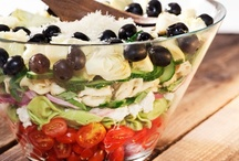 (Taking) Salads and Sides / Salads can be a meal by themselves or a wonderful side to another main dish.  Here we've compiled some of the best salads and side dish recipes to make your meal extra special. / by TakeThemAMeal.com
