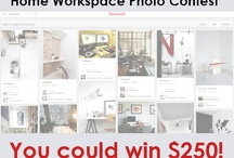 That's Pinteresting Workspace Contest / We challenged our residents to show us their apartment home work spaces and were blown away by the results! So take a look at these awesome spaces...then get to work! ;) / by Gables Residential
