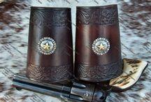 Western leather craft