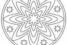 patrones de mandalas