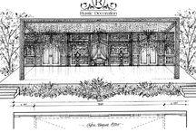 Sketsa / Design for wedding deceoration