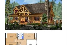 Floor Plans / Woodhouse's post and beam and timber frame home plans are created by our in-house design team. These plans are designed for efficiency and economical material use.