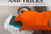 cleaning tips / by Vivian Morris