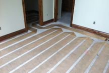 Heated Floors / Heated flooring and radiant space heating