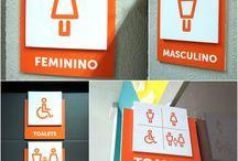 pictograma banheiro tematico