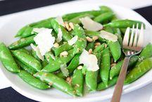 CSA Recipes - Peas