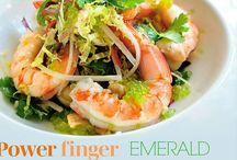 Finger Limes are a taste sensation. / Finger Limes and Food.