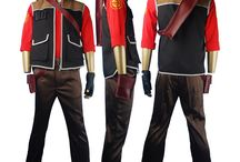 Team Fortress 2 costumes / Team Fortress 2 cosplay costume TF2 sniper shooter uniform suit