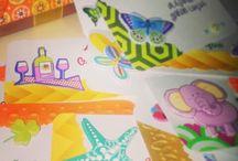 Tarjetas personalizadas  infantiles para  regalos- Creación Baita Taller Creativo / Con estas tarjeticas, puedes personalizar tus regalos. Contacto a baitainvitaciones@hotmail.com. Envíos a nivel nacional.
