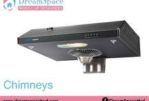 Chimneys / DreamSpace is Modular Kitchen store offering Chimney Models, Crockery Units, Modern Kitchen Designs,Faber Chimney Models in Hyderabad.