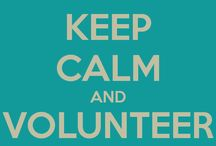 Volunteers / Information related to all things Volunteers. They have such huge hearts.