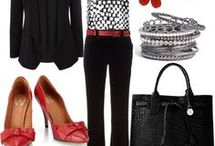 Outfits - Work - Black Pants