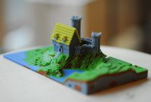 Pixels 3D Printing / 3D printed Art Pixels from #Minecraft, #Gameofthrones maps and others. If you want to be part of the 3D printing community, follow us and we will invite you to join our 3D printing boards!