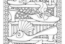 Art Therapy Colouring pages for adults