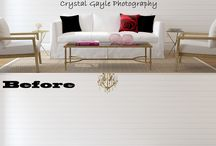 CGP - Interior Design / Crystal Gayle Photography home decor ideas and unique places to use our products!