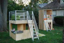 Kiddos - Playhouse / Outdoor playhouse inspiration