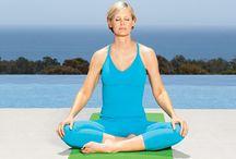 Jóga v menopauze / Jógové cviky, které pomohou zvládnout symptomy provázející menopauzu