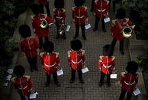Red Men's March / Photos of British Royal Guards (Mostly, but some are Danish Royal Guards) / by gorekun