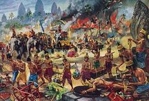 indian battle painting