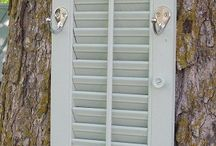 Different ways to use shutters