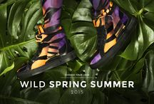 d-s!de Wild SS'15 Campaign / Brand new wild spring summer 2015 campaign for the famous luxury sneakers brand D-S!DE
