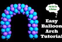 Ballon Girlande