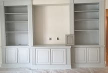 Built in TV Cabinets and Bookshelves