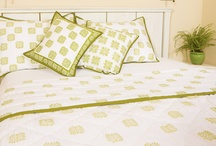 Green Quilt /  Green Quilt - Country Quilts and Bedding - Quilts from India / by Attiser