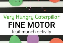 hungry caterpiller- long term unit plan