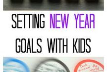 New Years Resolutions for Kids / Even kids can get into New Year resolutions! This board will give you and your kids ideas for creating resolutions this year! A memory jar, a fun craft and more. Maybe they have a goal to read more, work harder at school, accel in a sport! Create some fun resolutions that you can all stick to!