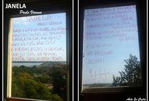 POESIA NA JANELA / Cenas do cotidiano que se passam através de minha janela!