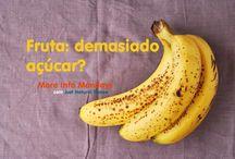 a fruta tem demasiado açúcar? More Info Mondays