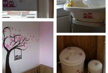 Szablony malarskie / Szablony na ścianę - przykładowe wnętrza.