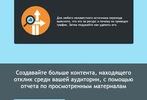 Инфографика по трафику (на русском) / Инфографика по траффику (Инфографика на Русском)