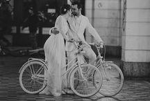 WEDDING ON BICYCLES