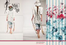 My patterns and fabrics in collections