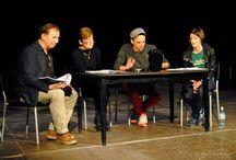 Próba czytana / Próba czytana w Teatrze Rozmaitości w Warszawie z udziałem publiczności - maj 2014.