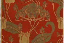 Art Nouveau Textiles and Wallpapers