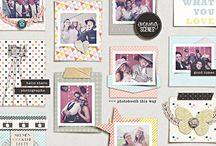 My Scrapbook Layouts / by Hally Michelle